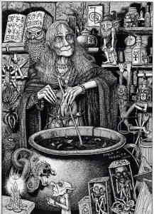 la leyenda de la ñiñera canibal
